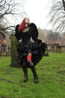 Gothic Angel by Amarie-Tinuviel