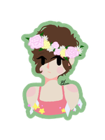 Flowercrown Madpie by Mdunl123