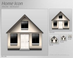 Home Icon by 2Shi