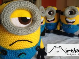 Minion Army by Mirtha Amigurumis by MirthaAmigurumis