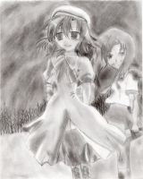 Higurashi Fan art by ChihuahuaLover22