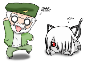 Left 4 Dead -  Chibi by DumpShotDan