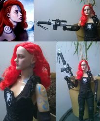 Custom Action Figure Commission - Andy Aves by LadyFenrirUnchained