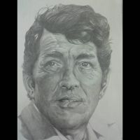 Dean Martin Completed!  by silentsketcher97
