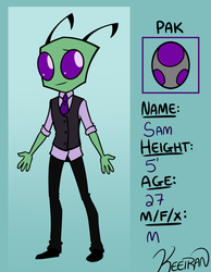 Sam Bio-Reference (Casual) by Keeiran