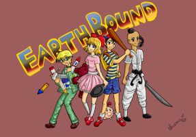 Earthbound Team by Laurence-L