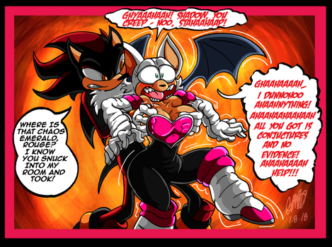 Tickle Commission - Rouge's Interrogation by GearGades