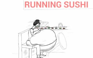 Running sushi by gr8feeder