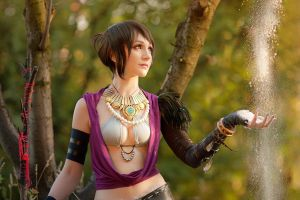 Morrigan Dragon Age by kirawinter