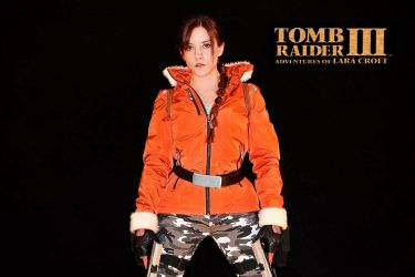 Lara Croft - TR III - Antarctica 01 by ImeldaCroft