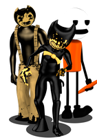 [Blender Internal] Bendy And The Meatly Collection by AustinTheBear