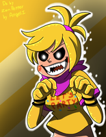 Toy Chica(gift) by Angel-from-FNaF
