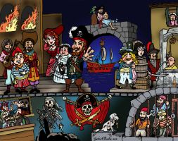 Pirates of the Caribbean by brodiehbrockie