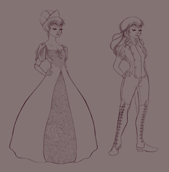 Naomi Gown and Ridding Outfits - Line by Samantha-MacLean
