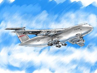 Westover C-5 Galaxy does a flyover by wcpope