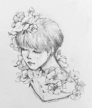 Spring Day Jiminie by eudoeraa