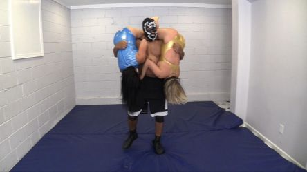 First ever DOUBLE TOMBSTONE PILEDRIVER # 3 by sleeperkid