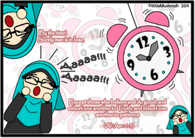 The clock is ticking by littleMuslimah