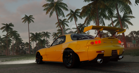 The Crew   Mazda RX-7 (performance 2) by 3xhumed