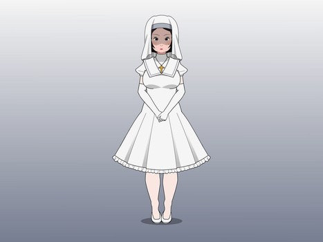 Nun of Purity by theCataglottism