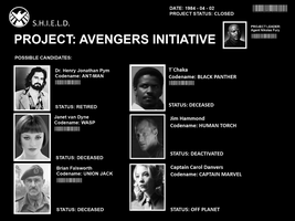 MCU - Project - Avengers Initiaves by therealOrkie