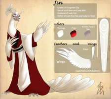 KFP - OC - Jin Reference Sheet by Shaiger