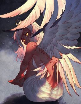 Earn Your Wings by nakanoart