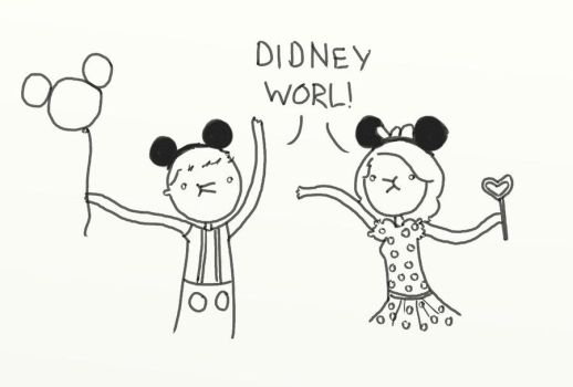 .DIDNEY WORL. by bababug