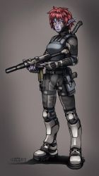 Contact - Tactical Lia by Shimmering-Sword