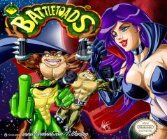 BATTLETOADS by W-arting