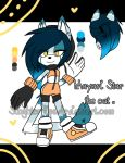 Mayari Star the cat by Singhter-lips