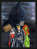 Batman's Bad Girls by JLWarner