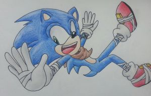 Boom! Sonic The Hedgehog by PokeCatTH-P