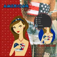 American Girl Doll [PSD] by silly-luv