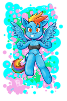 Rainbow Dash by HotKibble