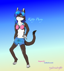 XxAnthro16xX Request: Kitty Purry by nightwindwolf95