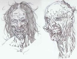 More Zombies by timothygreenII