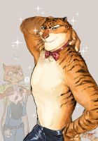 SEXY TIGER!:D by Ruinter