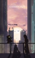 Coruscant swtor by Poticceli