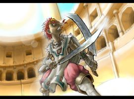 Young Ganondorf collab by Iroas