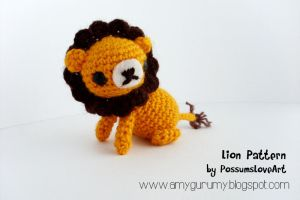 Lion pattern by Chaitwee by Amygurumy