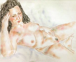 female nude study 34 by CpointSpoint