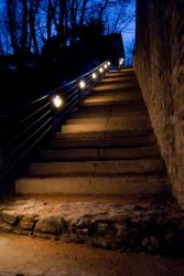 Light stairs by MikePmosh