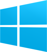 The New Windows logo (Original and Colored) by dAKirby309