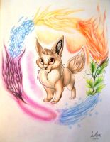 Eevee by InuMimi