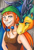 ACEO: The jungle duo by Eleweth