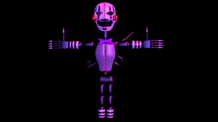 Nightmare showtime puppet done (fnaf 4 version) by TheDeveloperturbo