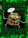 NecroMasters TCG - Burger Trap Cover by PlayboyVampire