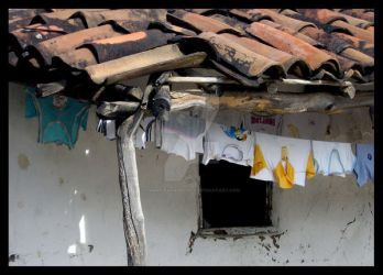 Clothes Line in Colors by namioevangelista