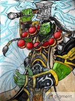 Thrall (Goel), Son of Durotan - World of Warcraft by trac1999